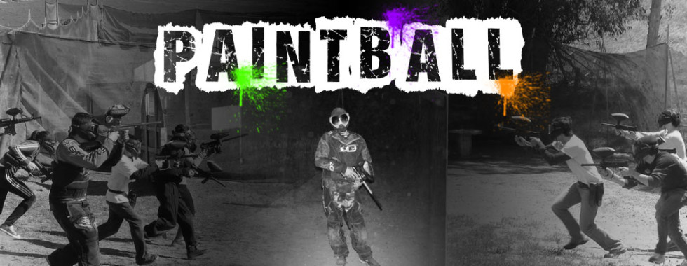 The Shack Paintball Banner